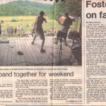 Gazette article on the Farm Show (1) - June, 1995