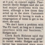 Daily Mail Article on The Pit (4) - 1995